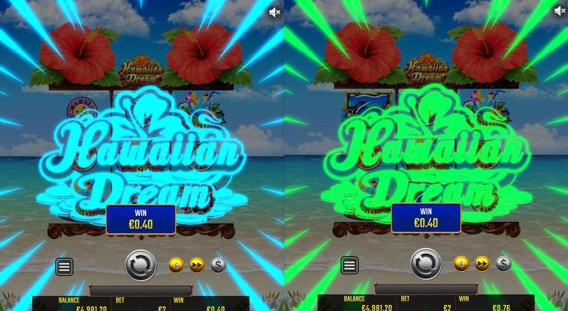 ハワイアン・ドリームのリスピン機能は全部で4段階!