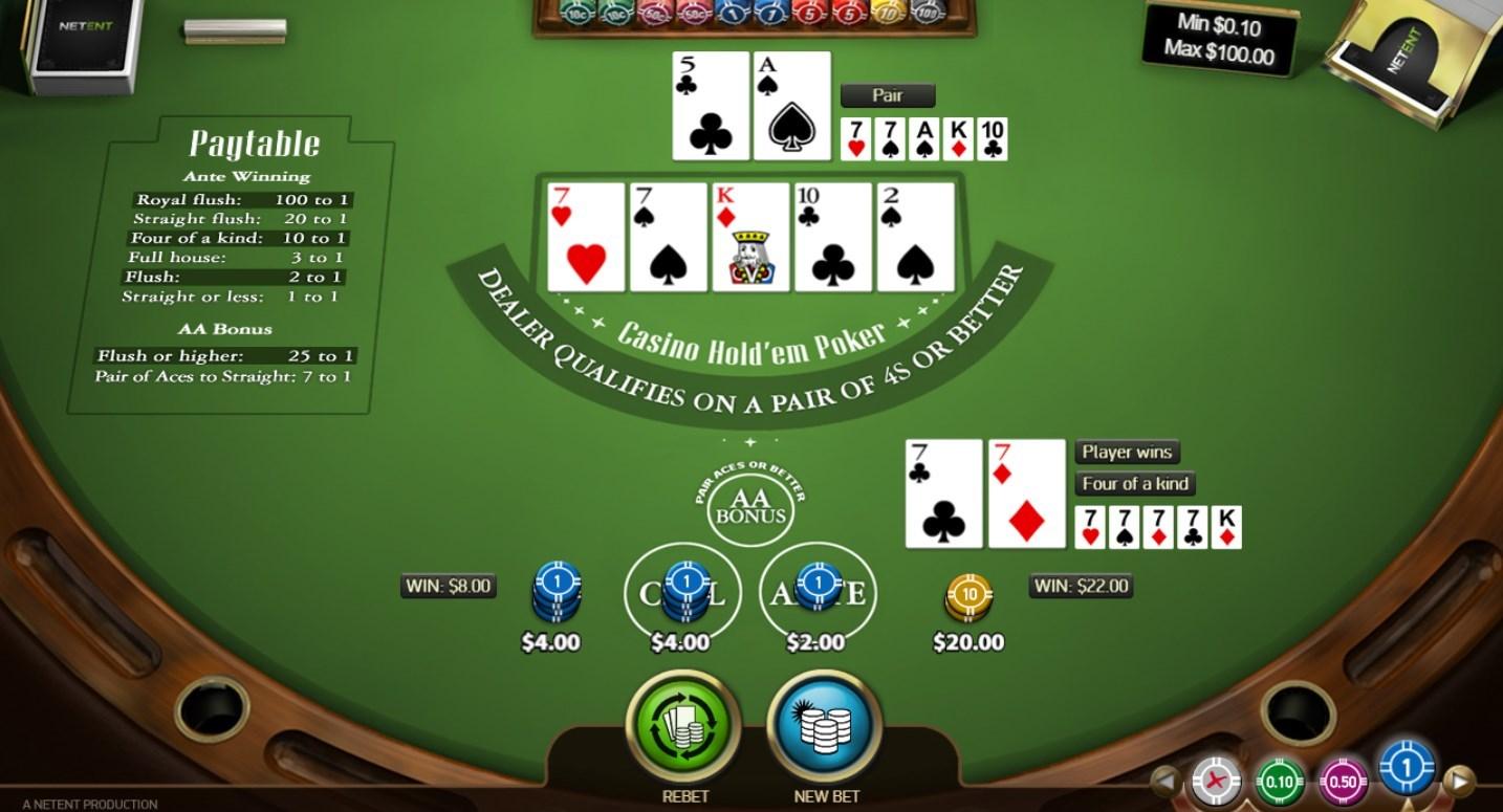 Casino hold 'em Poker(カジノホールデムポーカー)