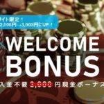 エルドアカジノ3000円の入金不要ボーナス(登録ボーナス)はこちらから!